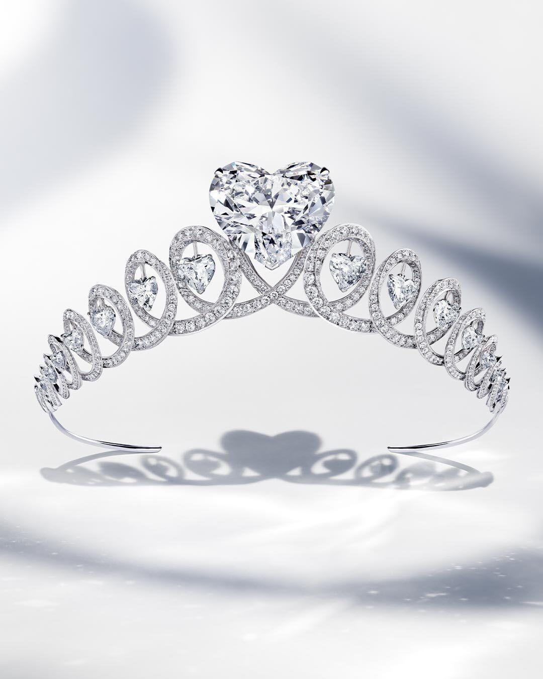 Graff Infinity Diamond Tiara