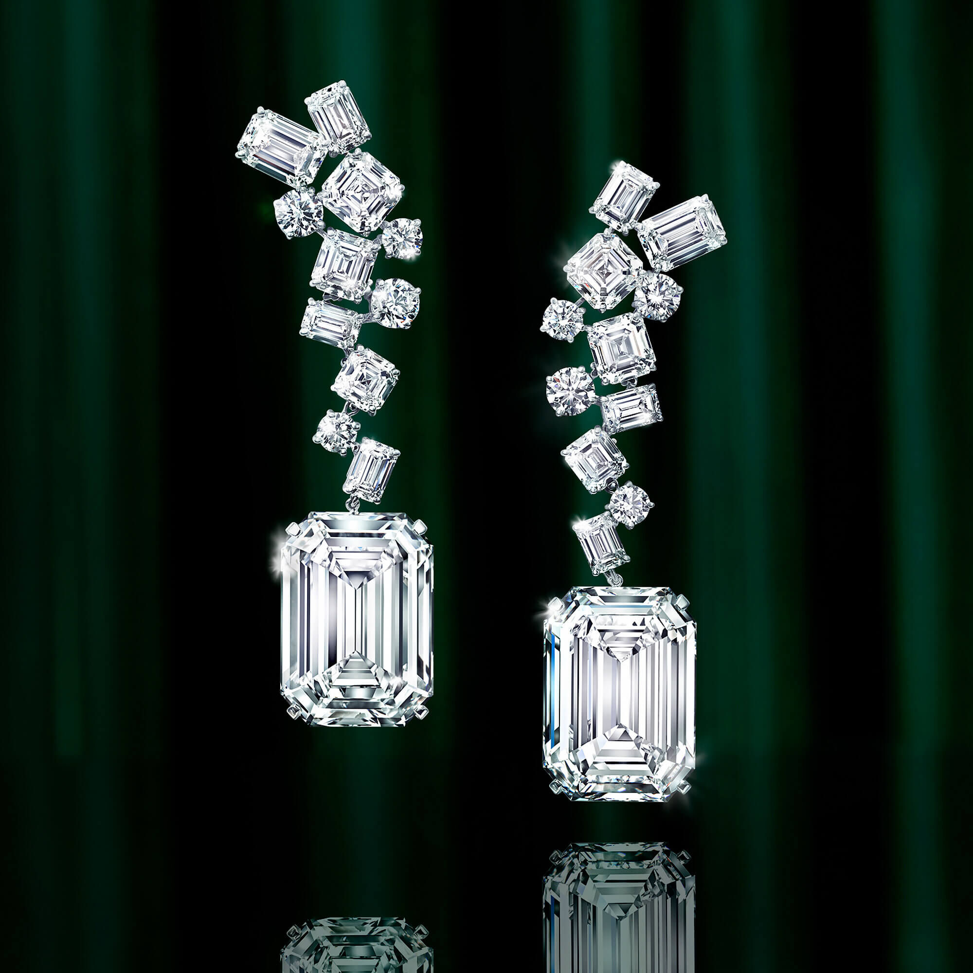 The Eternal Twins IDENTICAL D COLOUR FLAWLESS, 50.23CTS & 50.23CTS