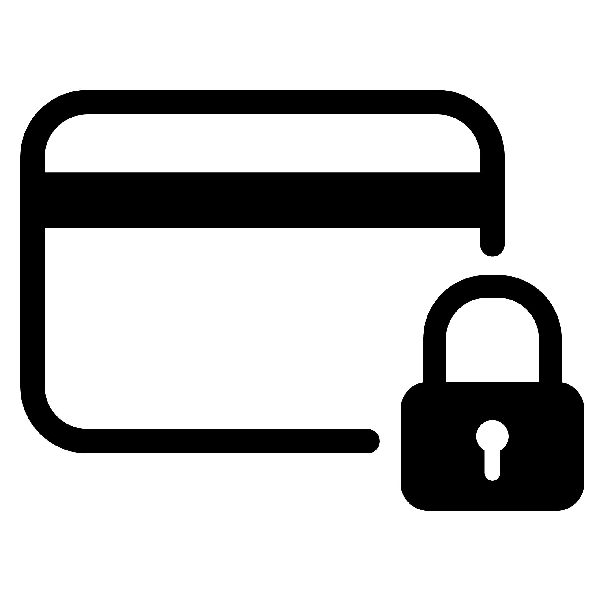 a Secure payment icon