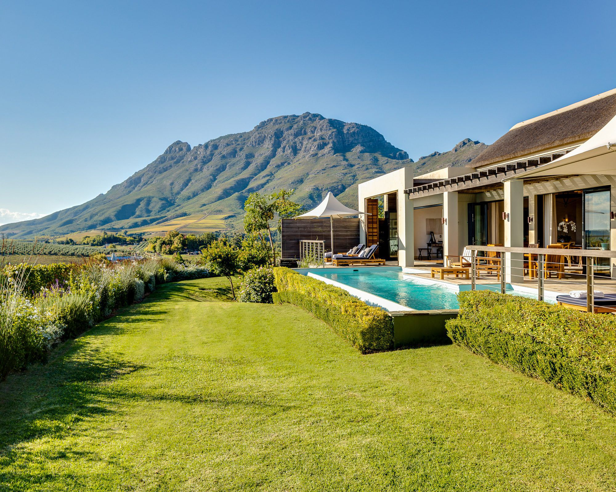 The Lodges of the Delaire Graff Estate in Stellenbosch, South Africa