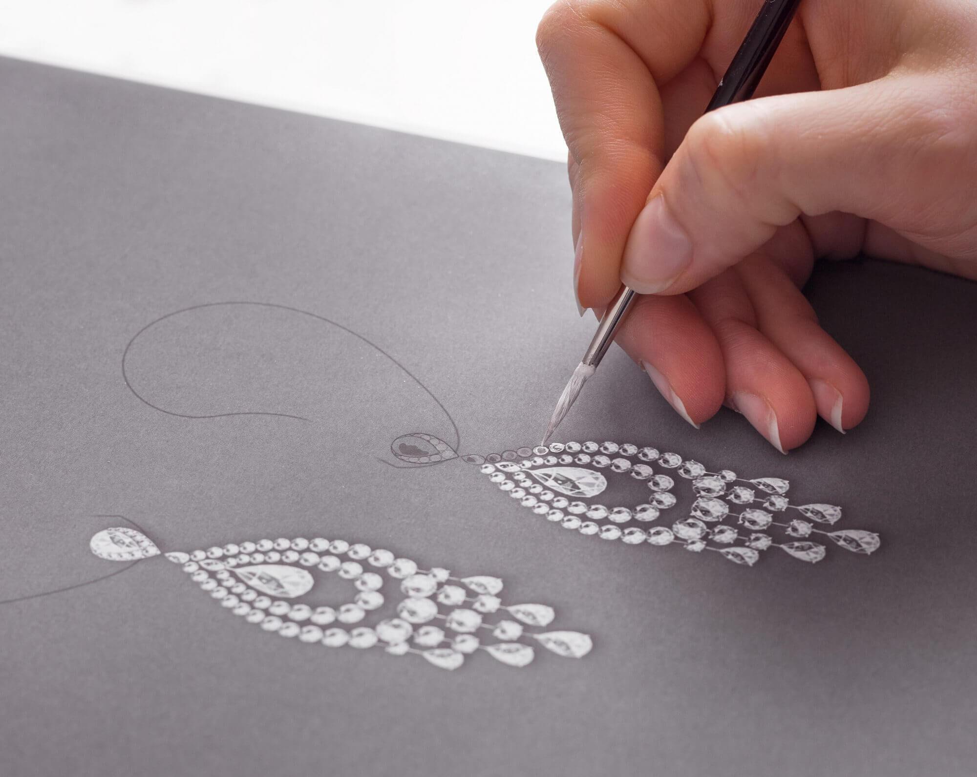 Graff Diamonds Making of a Masterpiece Earrings Artistic interpretation