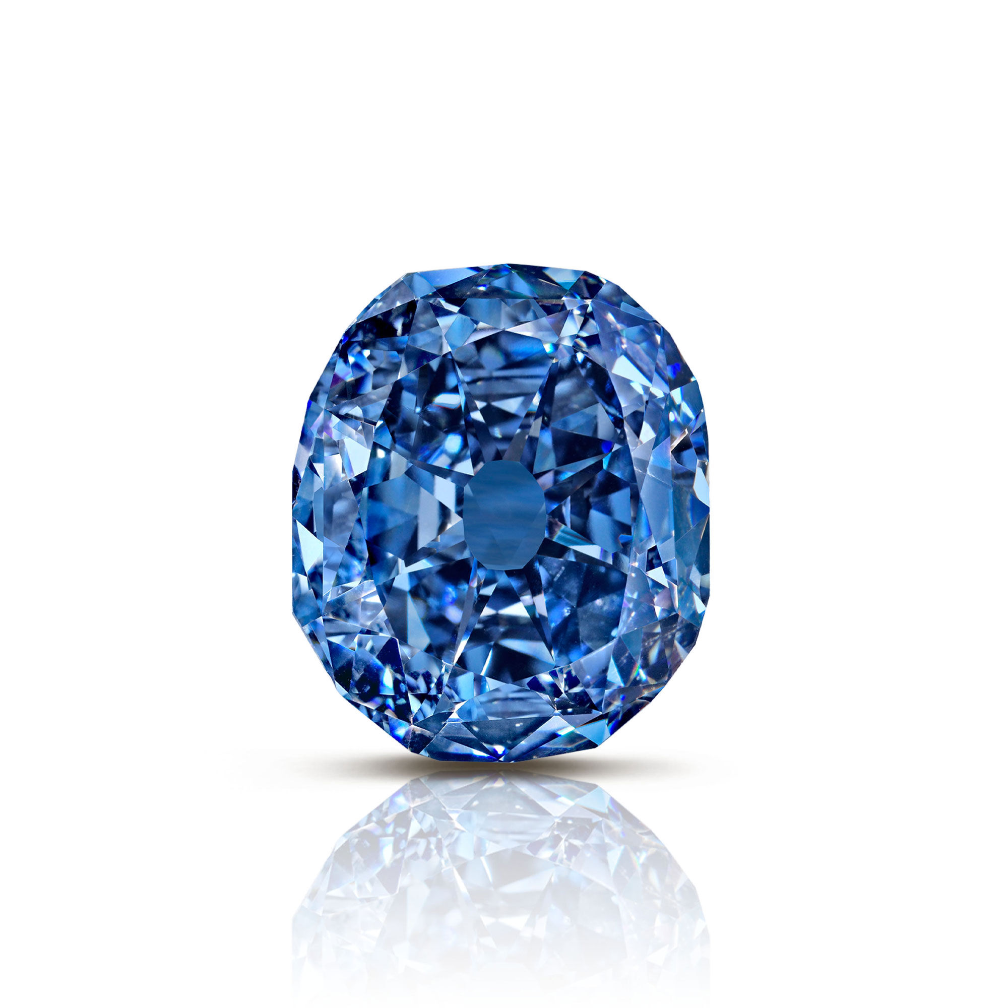 The Wittlesbach-Graff famous blue diamond