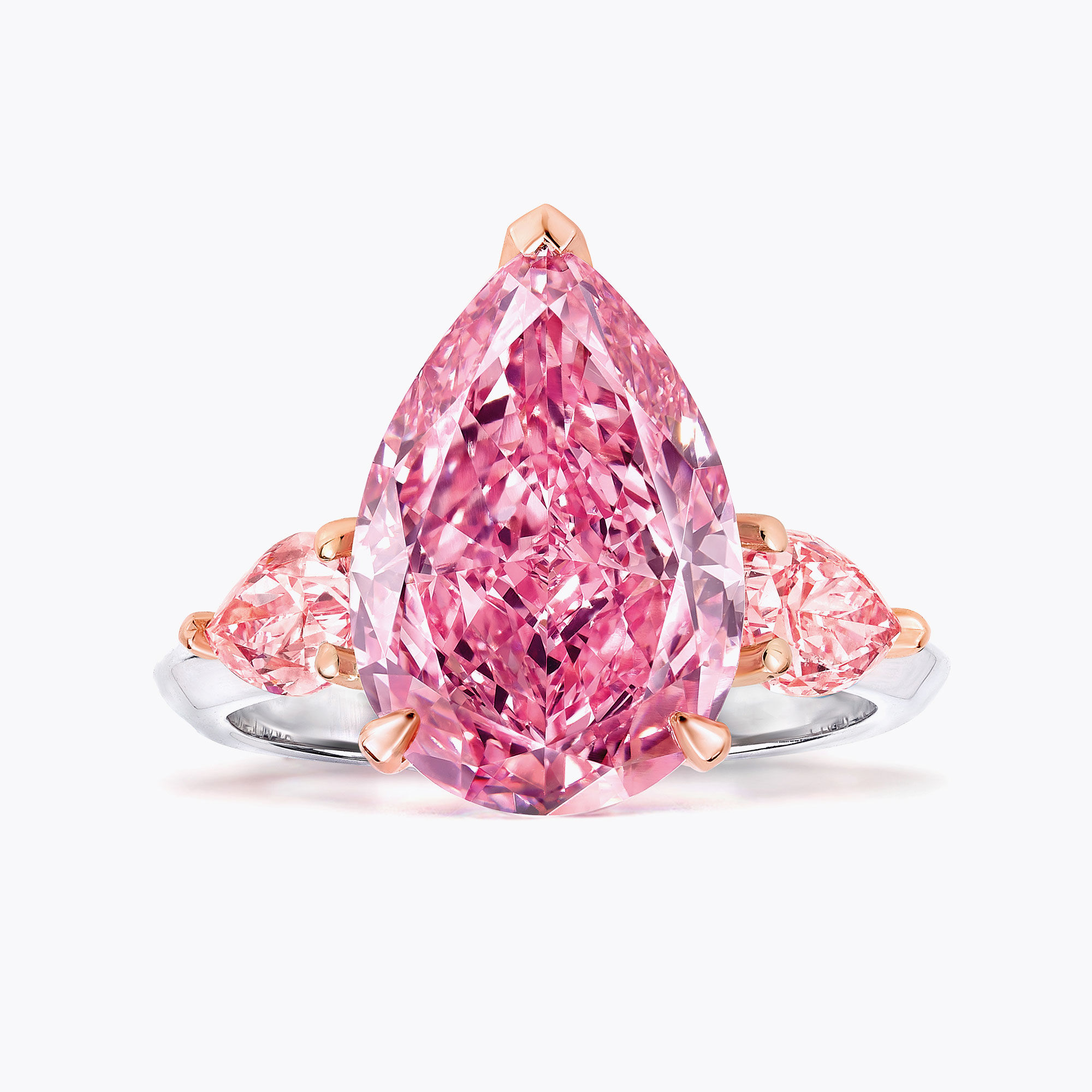 The Graff Lesotho Pink diamond ring