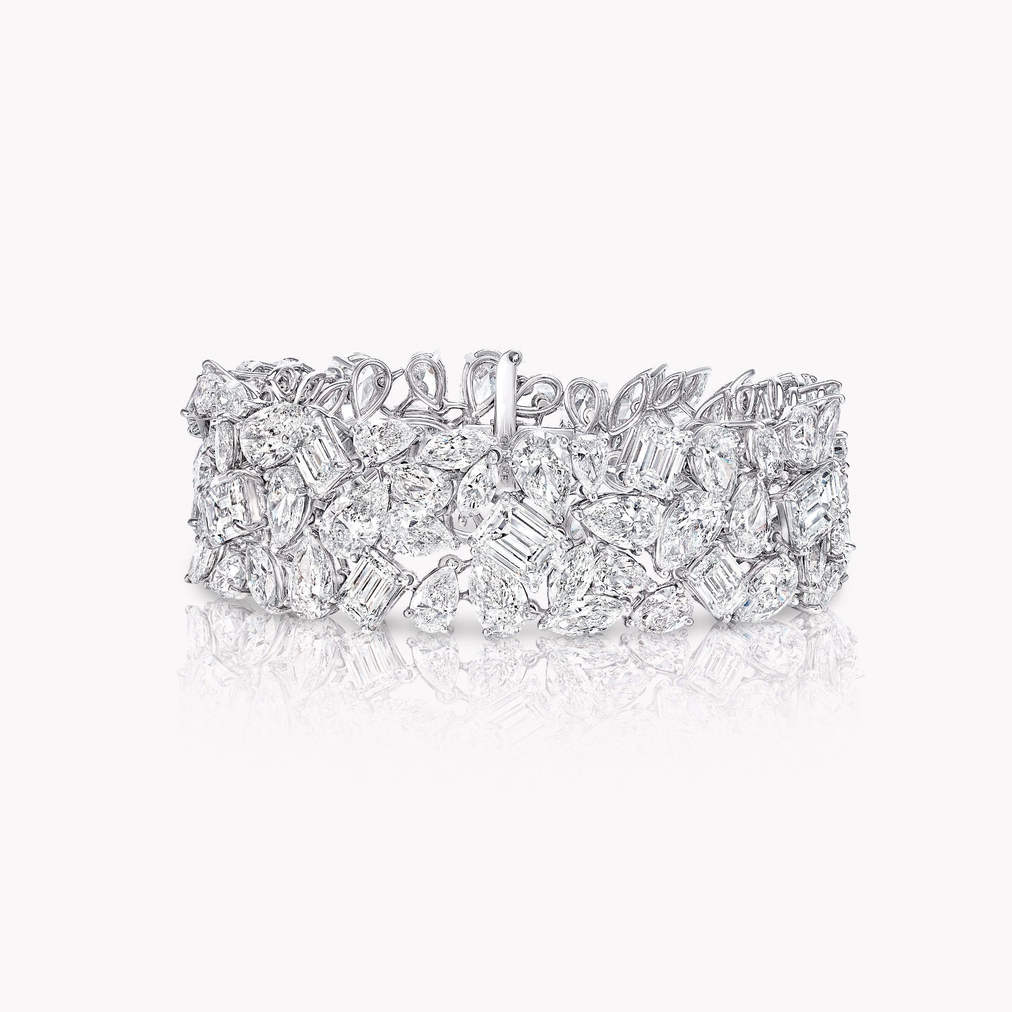 A high jewellery diamond bracelet by Graff