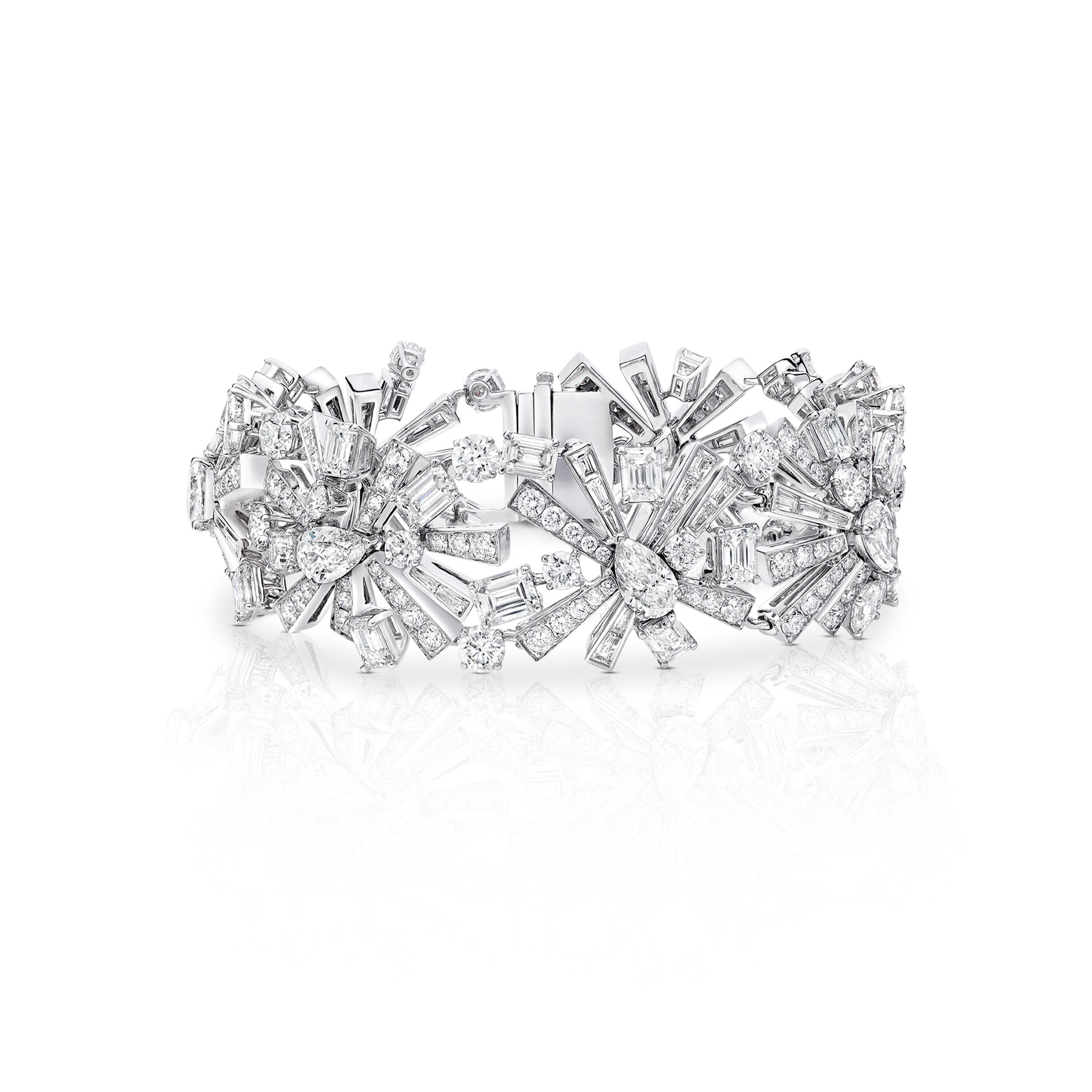 A New Dawn Diamond High Jewellery Bracelet from the Graff Tribal collection