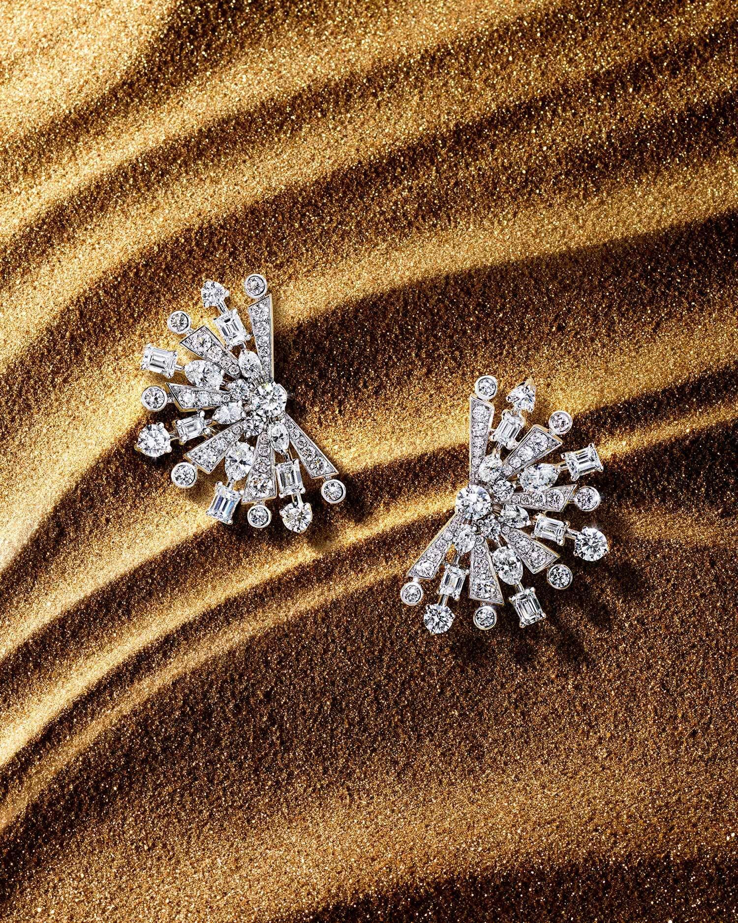 New Dawn Yellow Diamond High Jewellery Earring