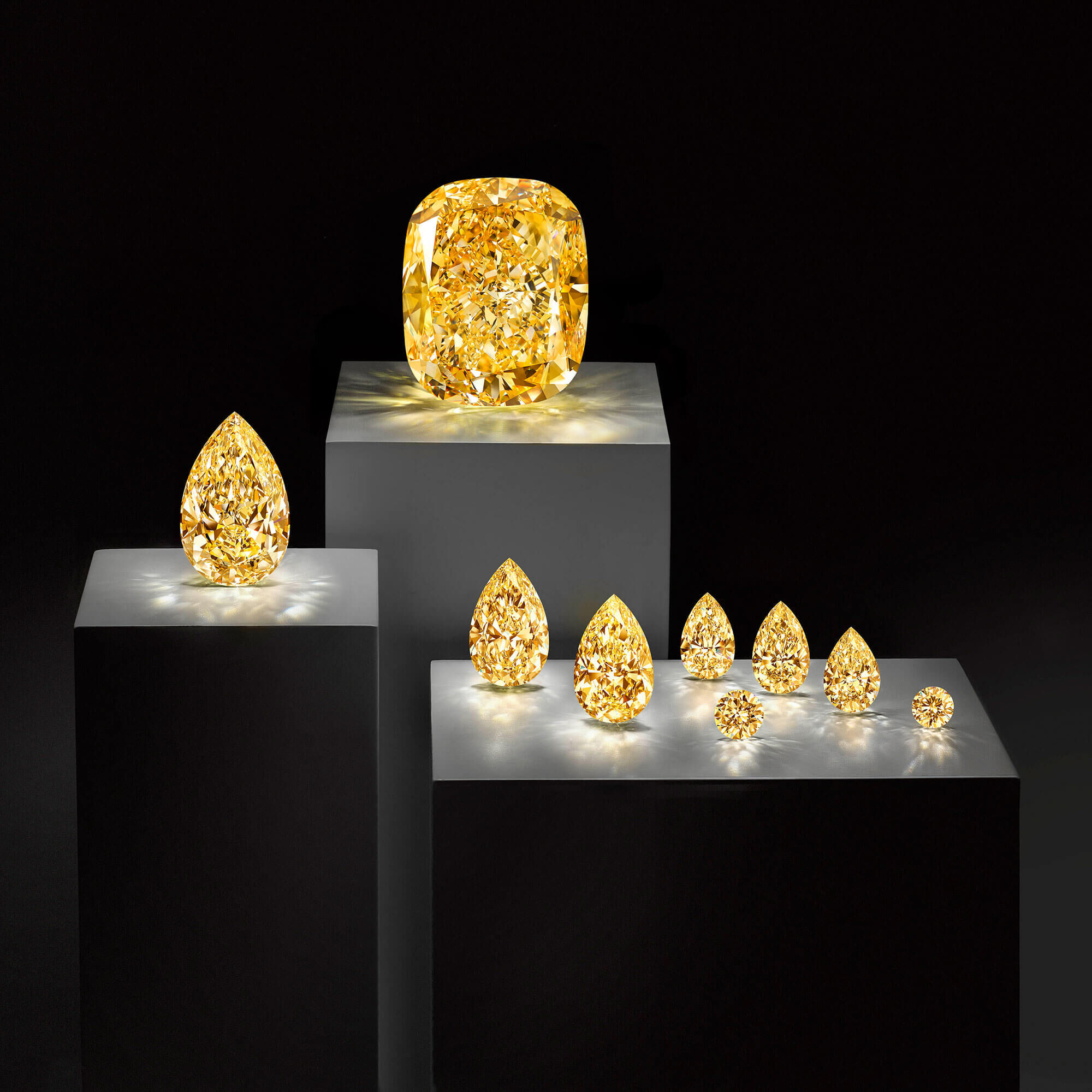 The Golden Empress and satellite stones by Graff