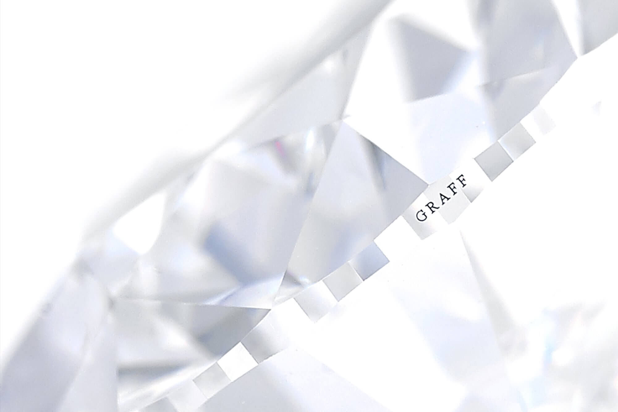 Graff Diamond engraved with Graff name