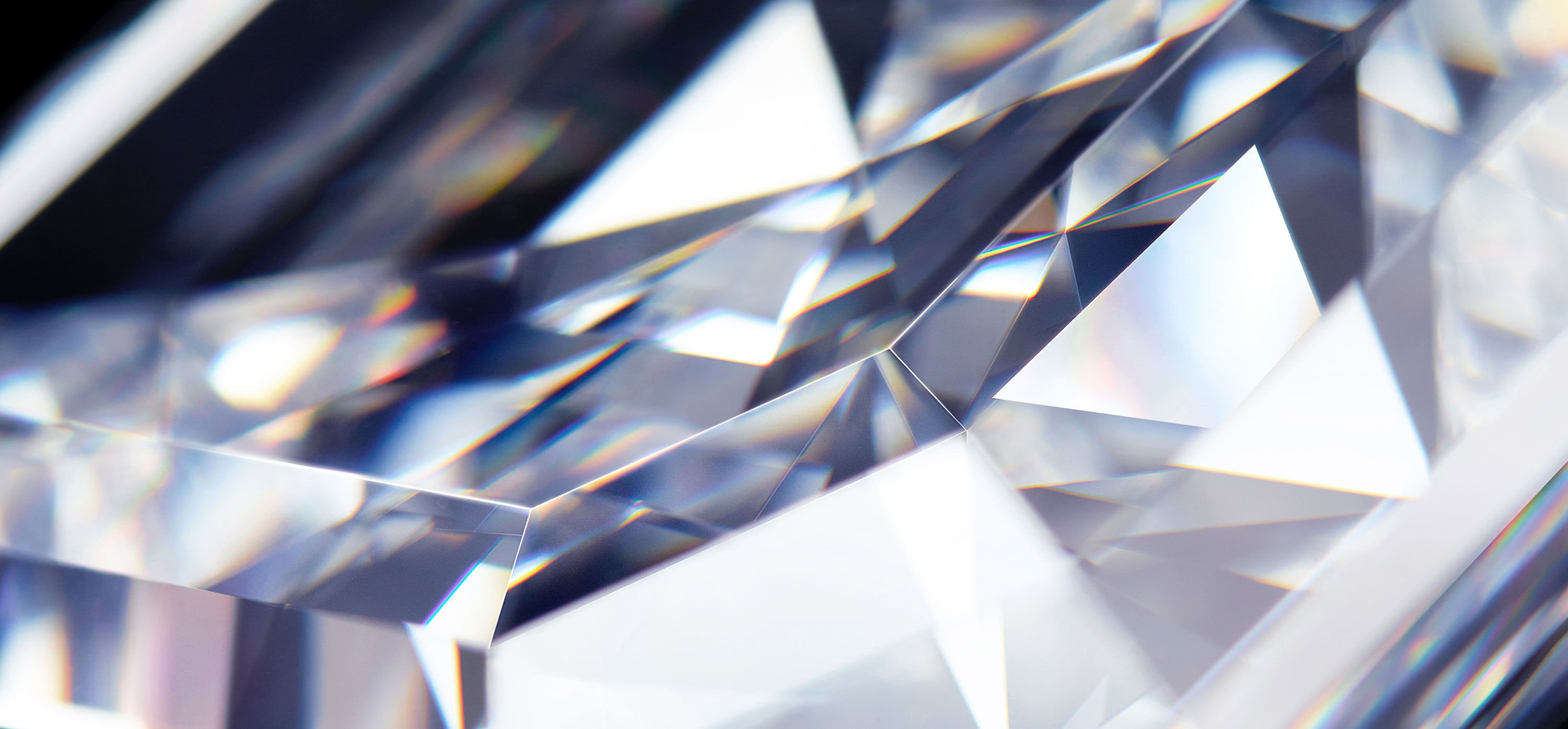 Close of of a diamond