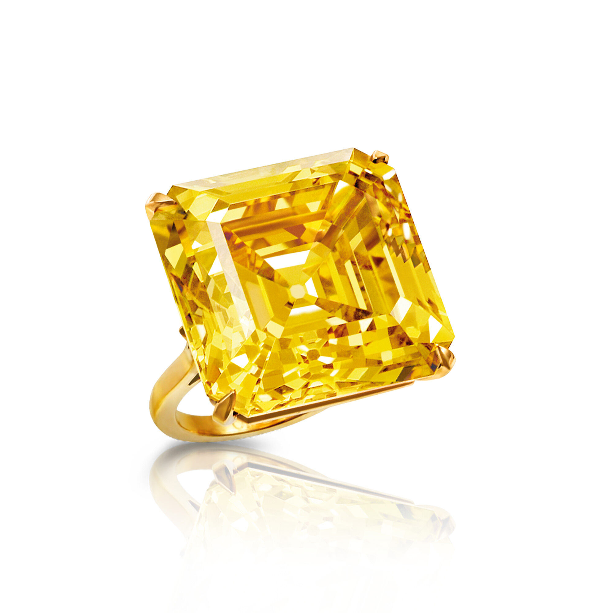 The 'Star Of Bombay' Famous Yellow Diamond from Graff