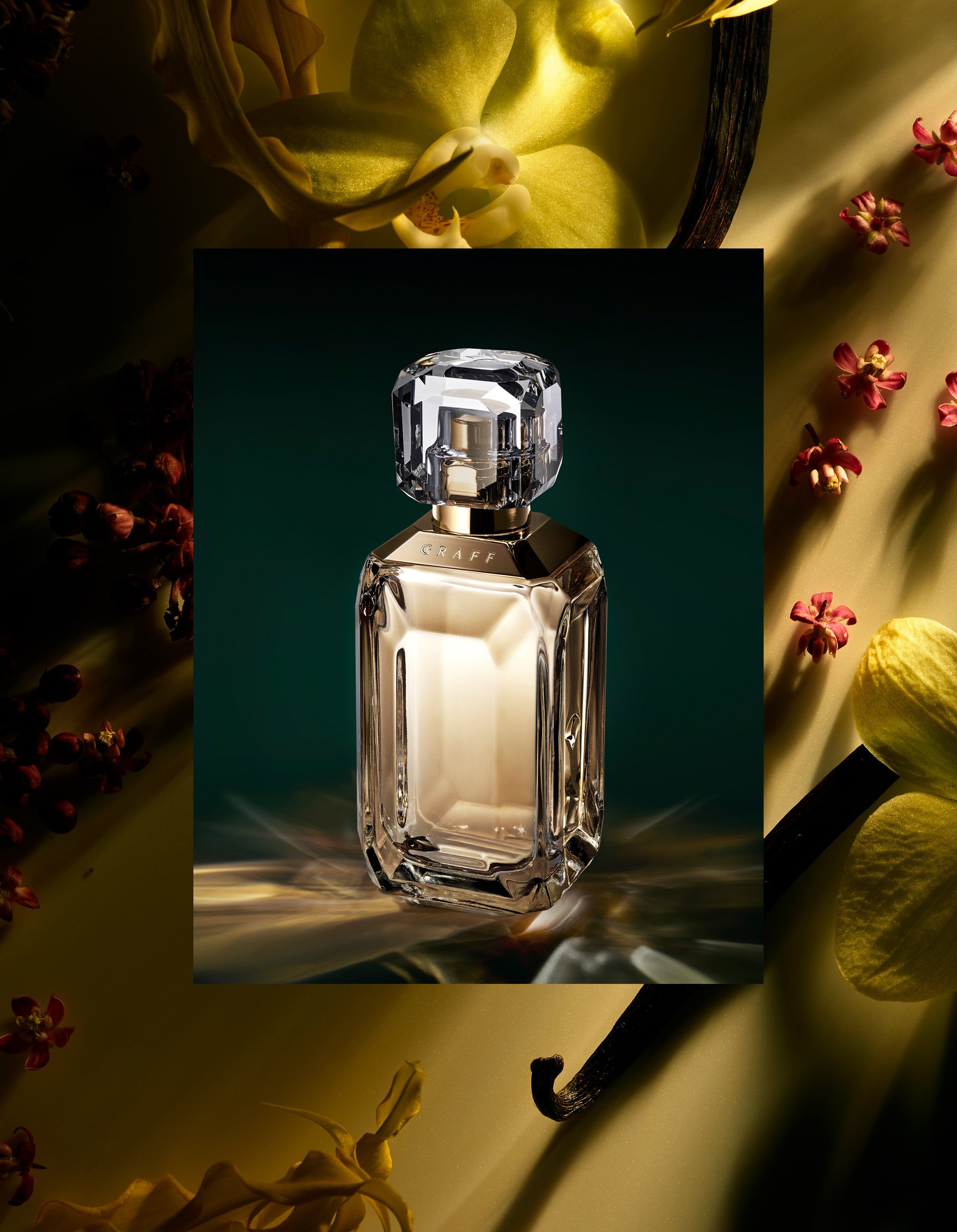 Lesedi La Rona IV fragrance with ingredients by Graff