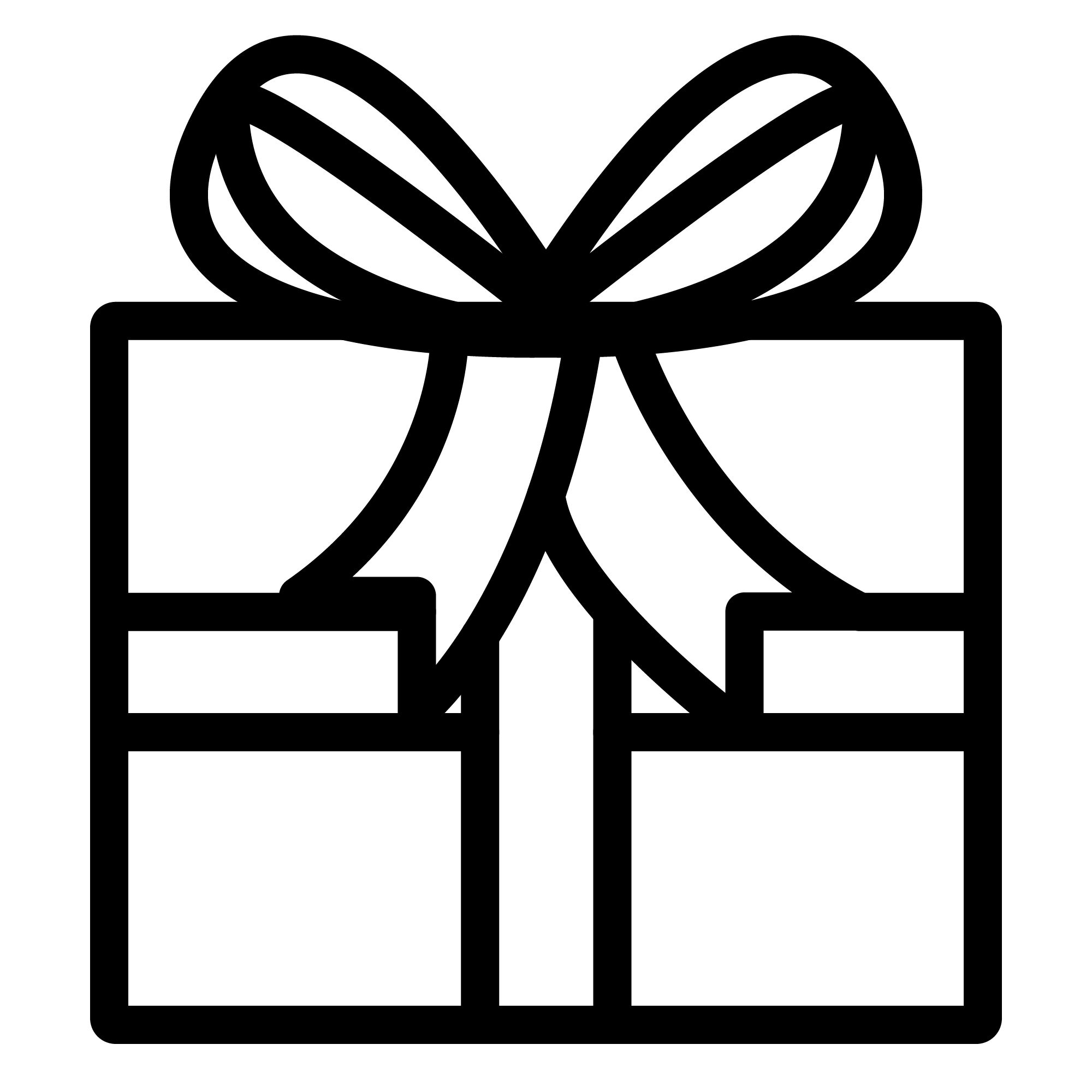 an Complimentary wrapping icon