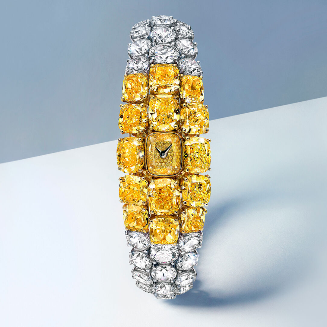 Oval Diamond Secret Watch from the Graff unique timepieces collection