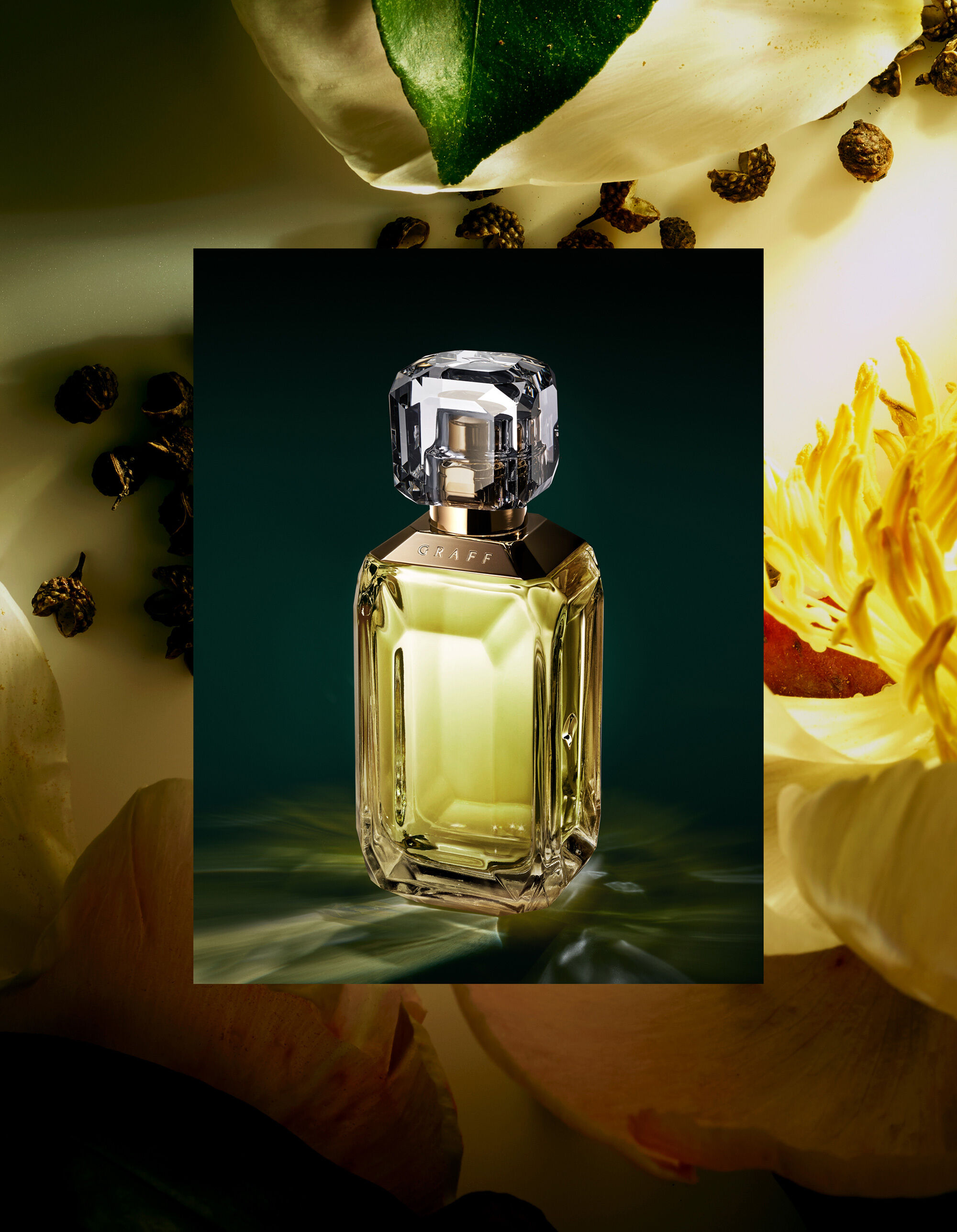 Lesedi La Rona II fragrance with ingredients by Graff