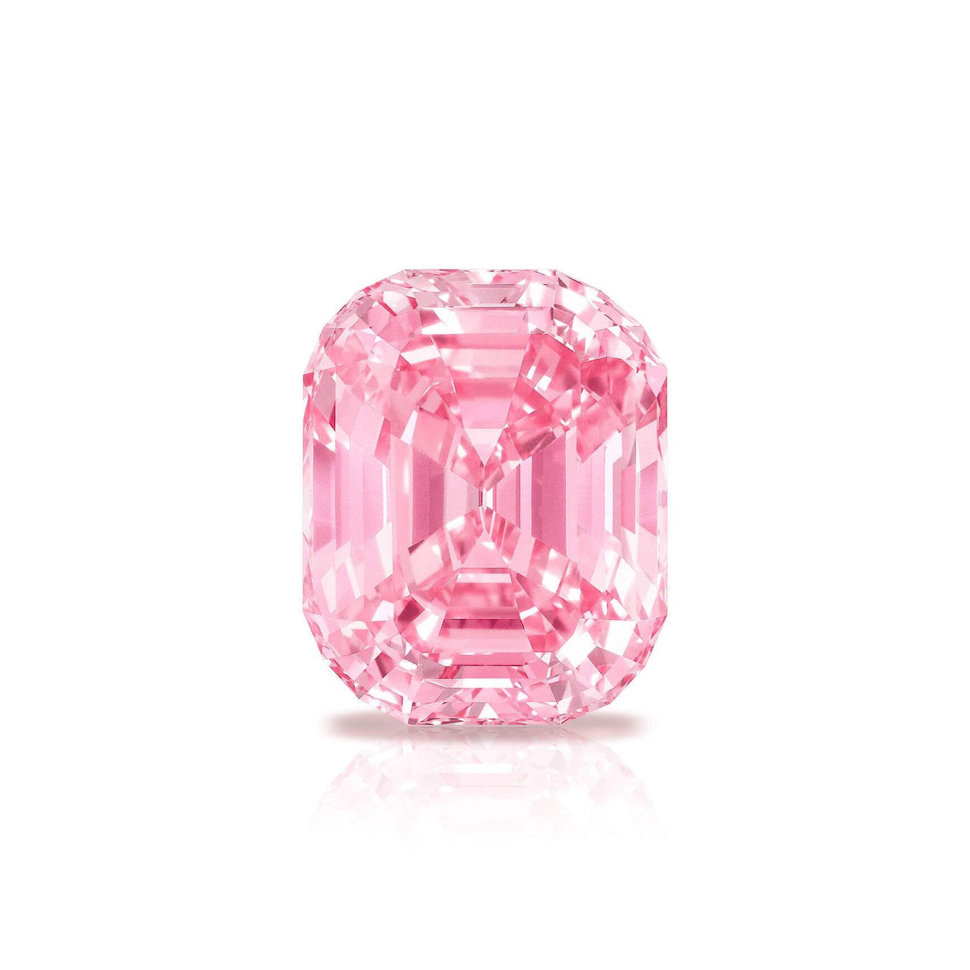 The Graff Pink famous pink diamond