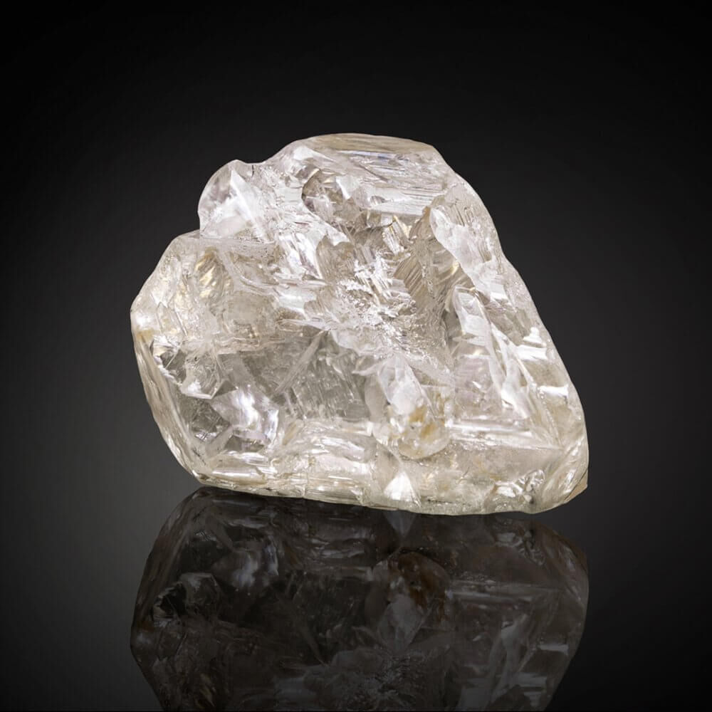 The 709 carat Peace Diamond rough stone