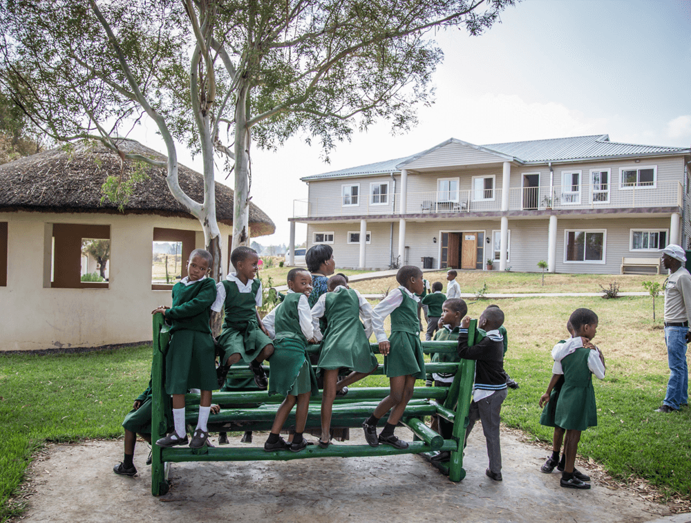 Students in the Graff Leadership Centre in South Africa