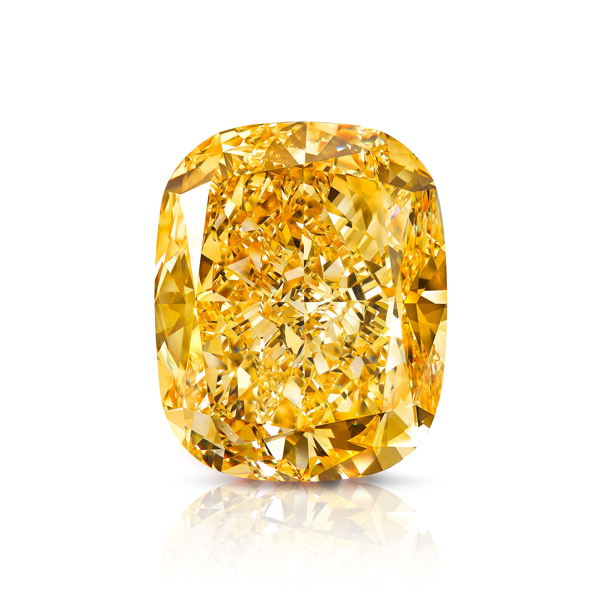 The Golden Empress famous Yellow Diamond from Graff