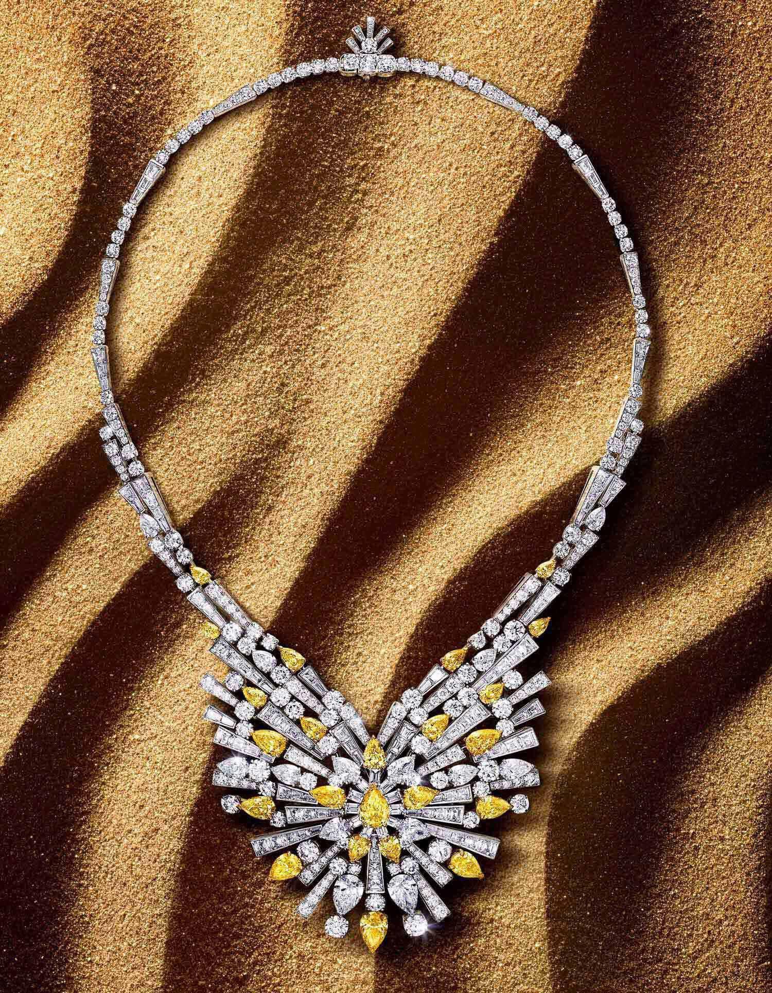 New Dawn Yellow Diamond High Jewellery Necklace