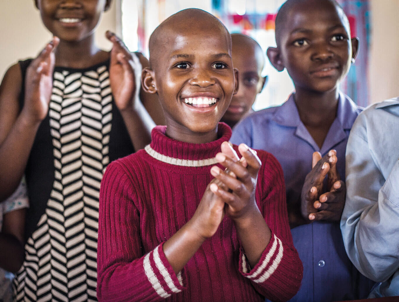 Tsepo FACET Foundation Young children at the Graff Leadership Centre learning as they play