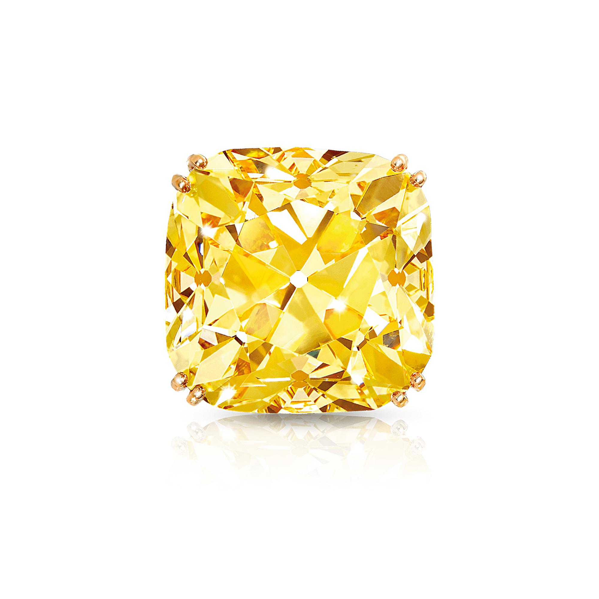 The Graff Sunflower famous Yellow Diamond from Graff