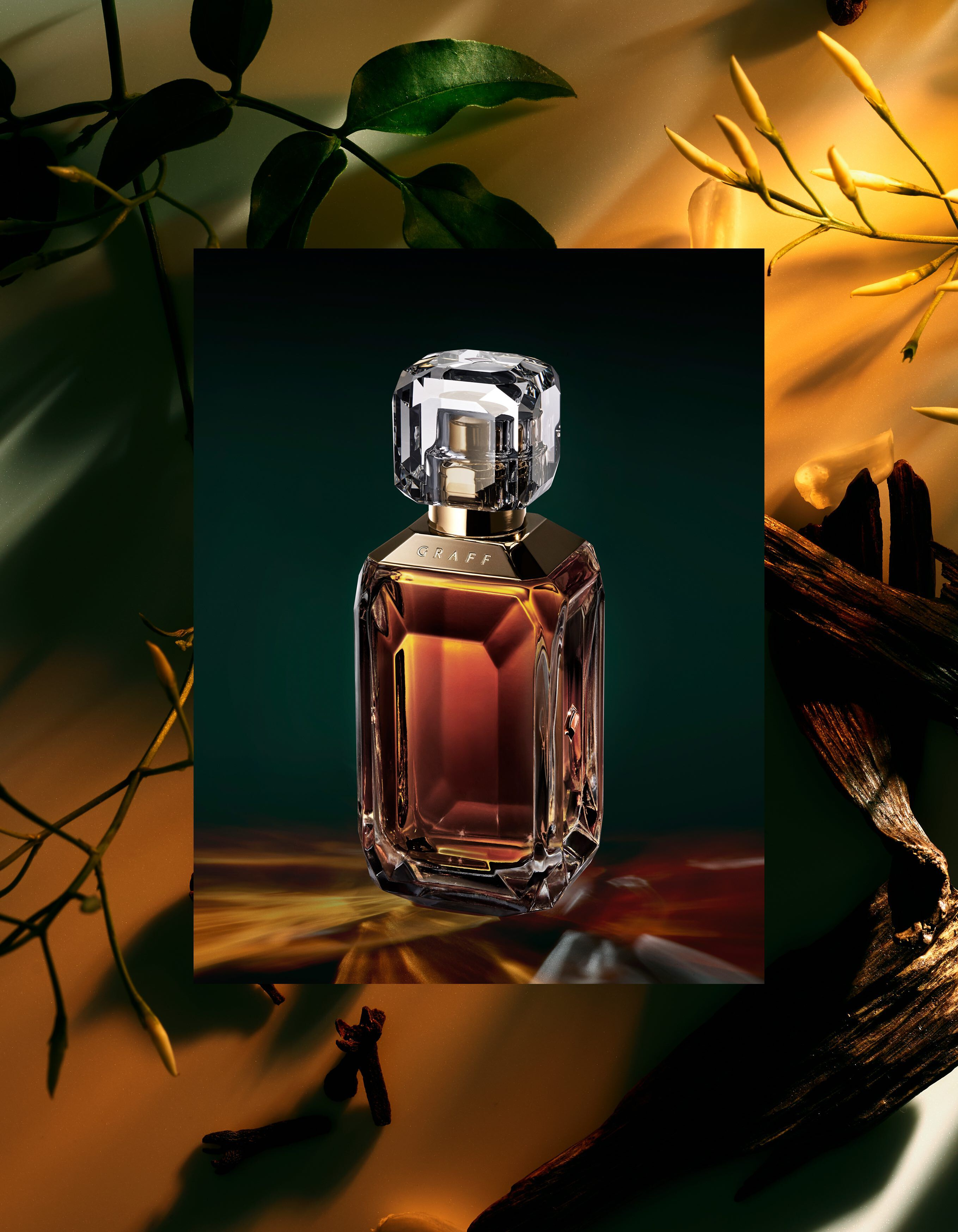 The Lesedi La Rona VI fragrance with ingredients by Graff