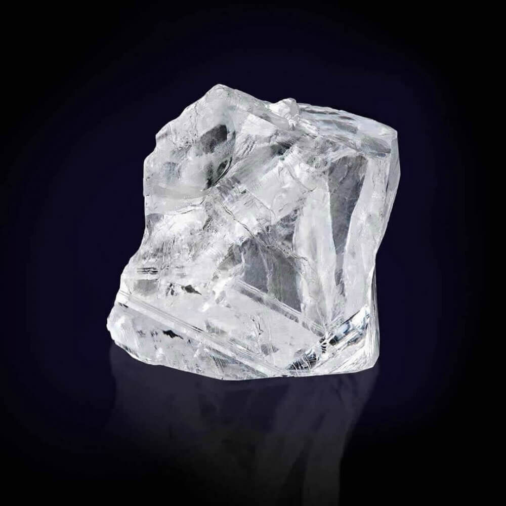 a 373 carat rough diamond