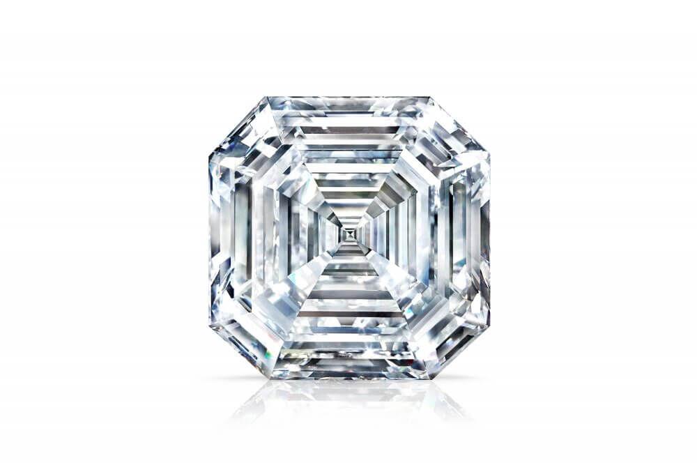 The 302.37 carat Graff Lesedi La Rona square emerald cut diamond