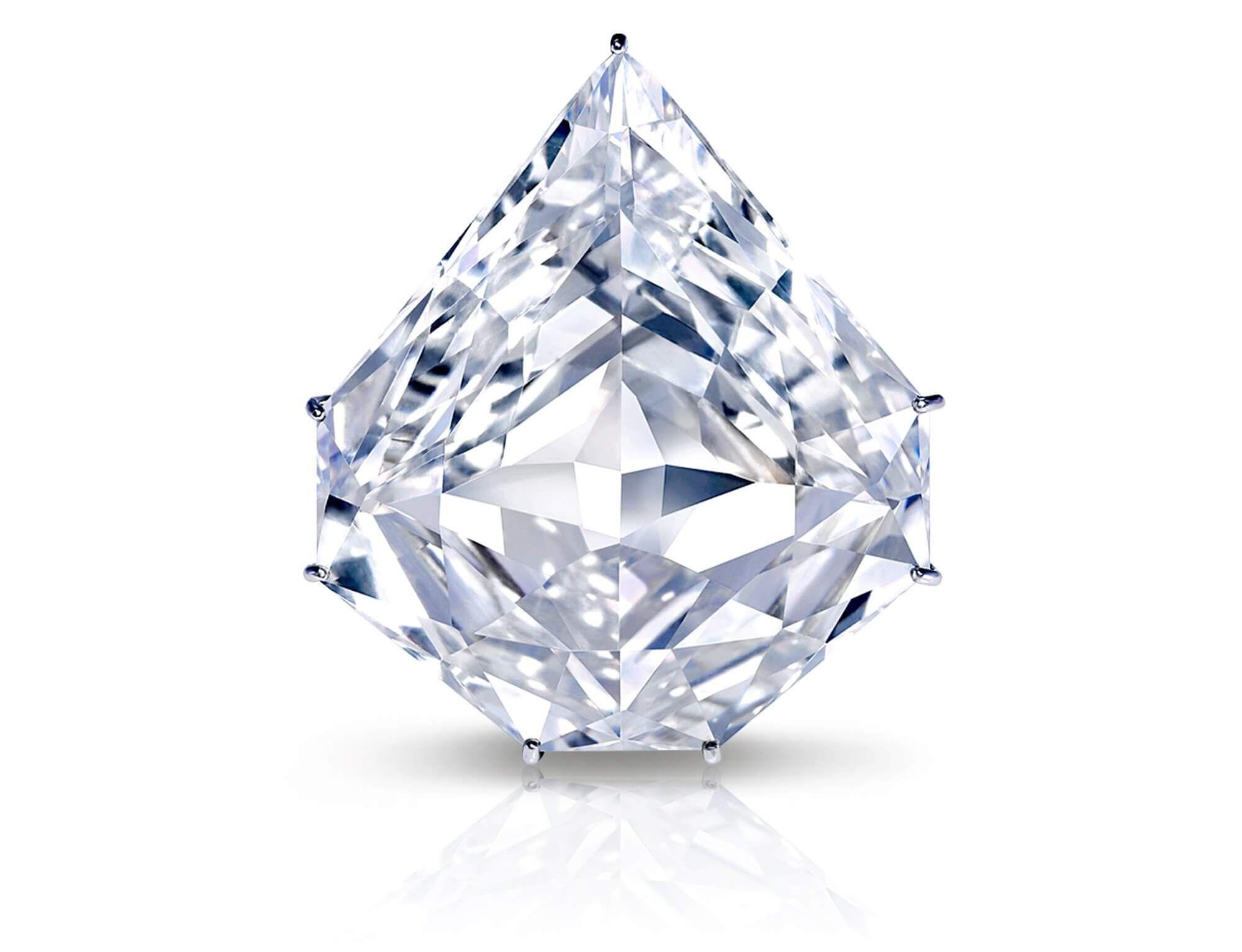 The Graff Paragon famous white diamond