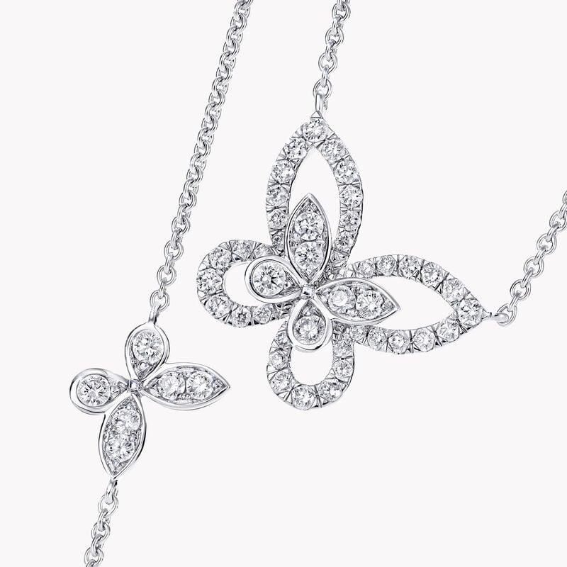 Pendentif en diamants Multi Butterfly Silhouette, , hi-res