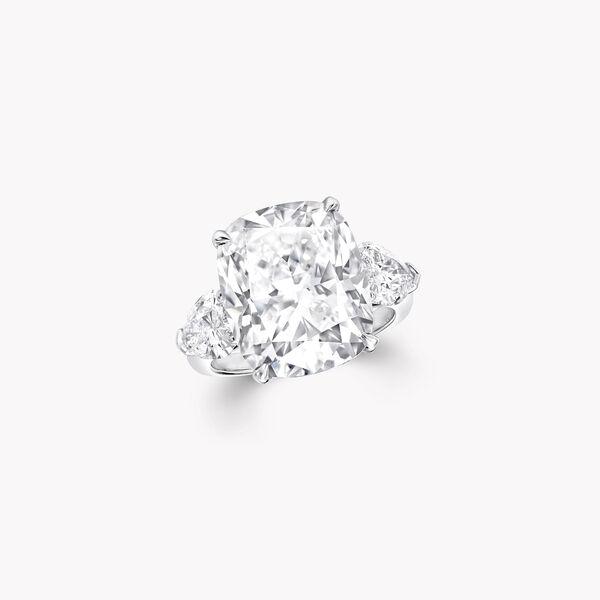 クッションカット ダイヤモンド ハイジュエリー リング, , hi-res