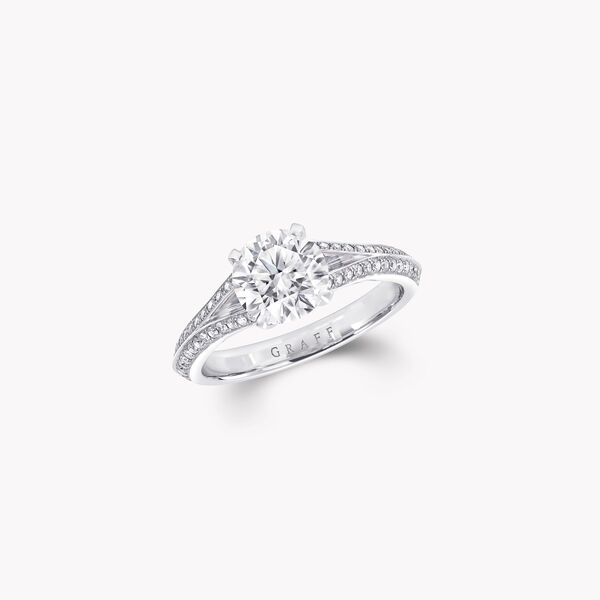 Legacy圓形鑽石訂婚戒指, , hi-res