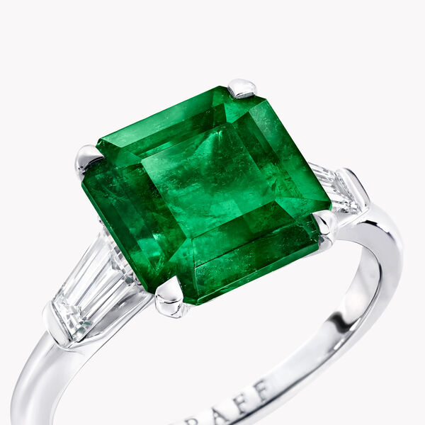 Promise Emerald Cut Emerald Ring, , hi-res