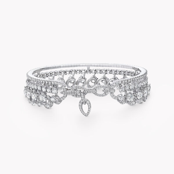 Graff Gateway Triple Row Diamond Bangle, , hi-res