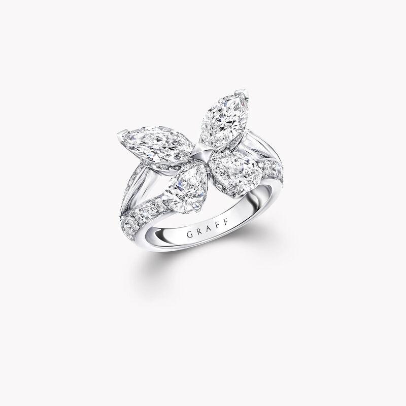 Bague en diamants Classic Butterfly, , hi-res