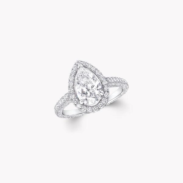 Constellation梨形鑽石訂婚戒指, , hi-res