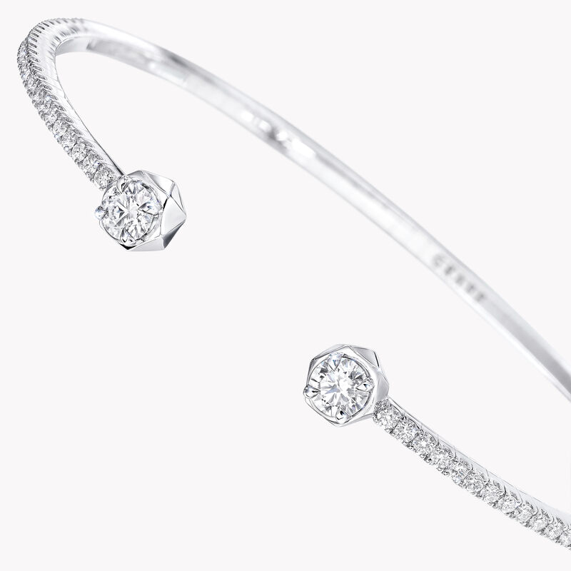 Bracelet rigide ouvert en diamants Laurence Graff Signature, , hi-res