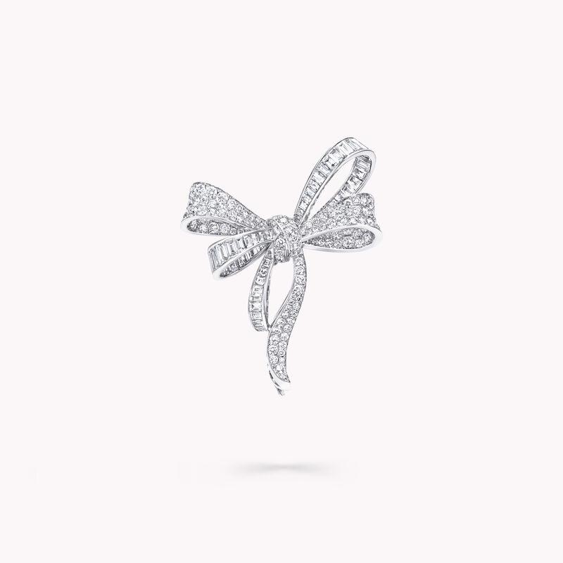 Tilda's Bow钻石胸针, , hi-res