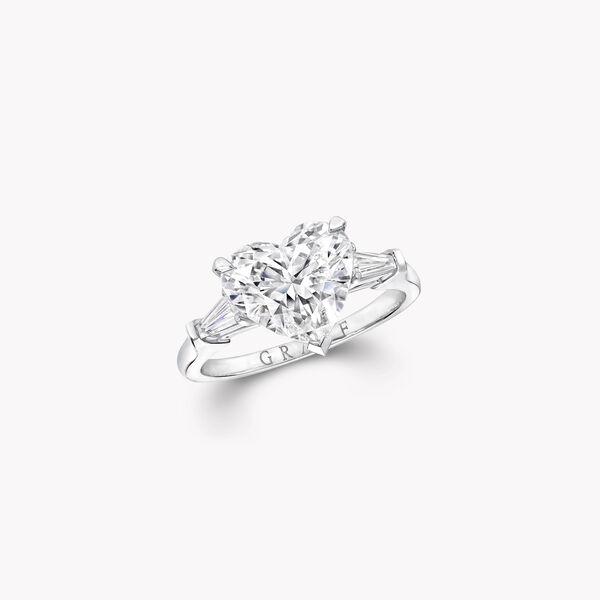 Promise Heart Shape Diamond Engagement Ring, , hi-res