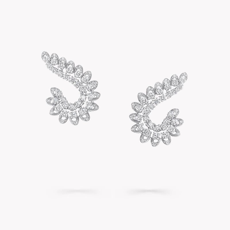Graff Gateway Diamond Climber Stud Earrings, , hi-res
