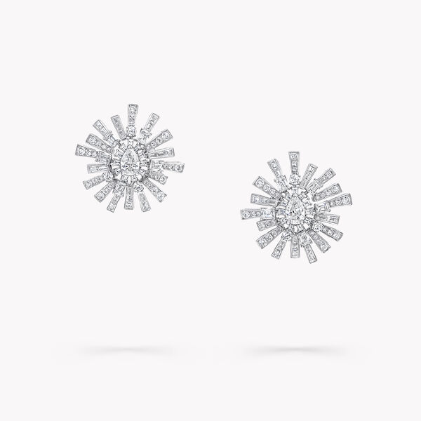 New Dawn Diamond High Jewellery Earrings, , hi-res