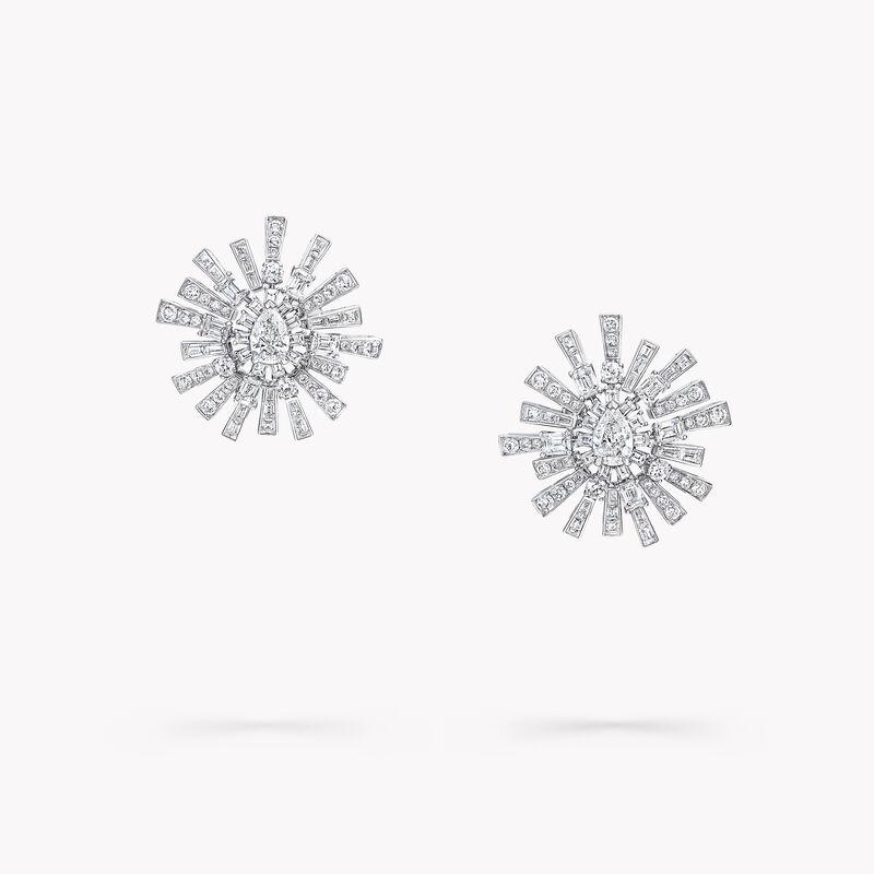 New Dawn Diamond High Jewellery Earrings, , hi-res