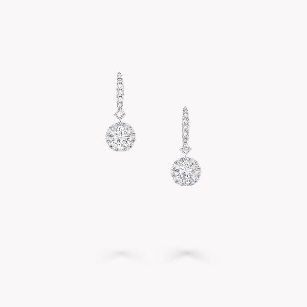 Diamond Stud Chandelier Drop Earrings Fine Jewellery Graff