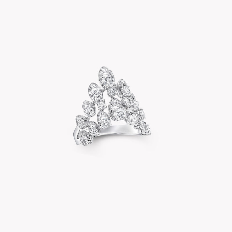 Graff Gateway Double Row Diamond Ring, , hi-res