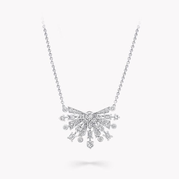 New Dawn Multi-Shape Diamond Pendant, , hi-res