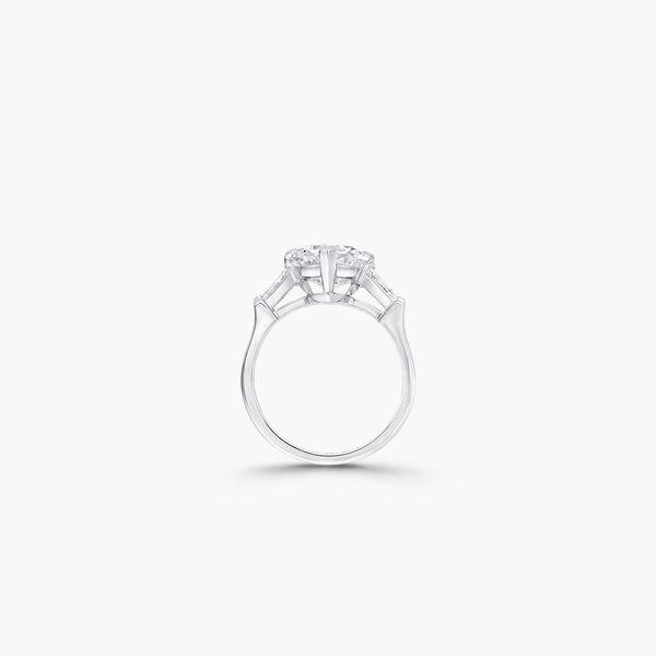 프로미스 하트 쉐이프 다이아몬드 인게이지먼트 링, , hi-res