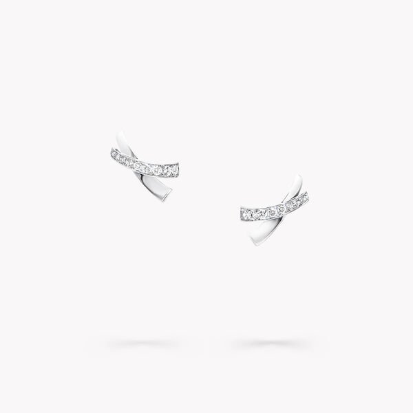 Clous d'oreilles en diamants Kiss, , hi-res