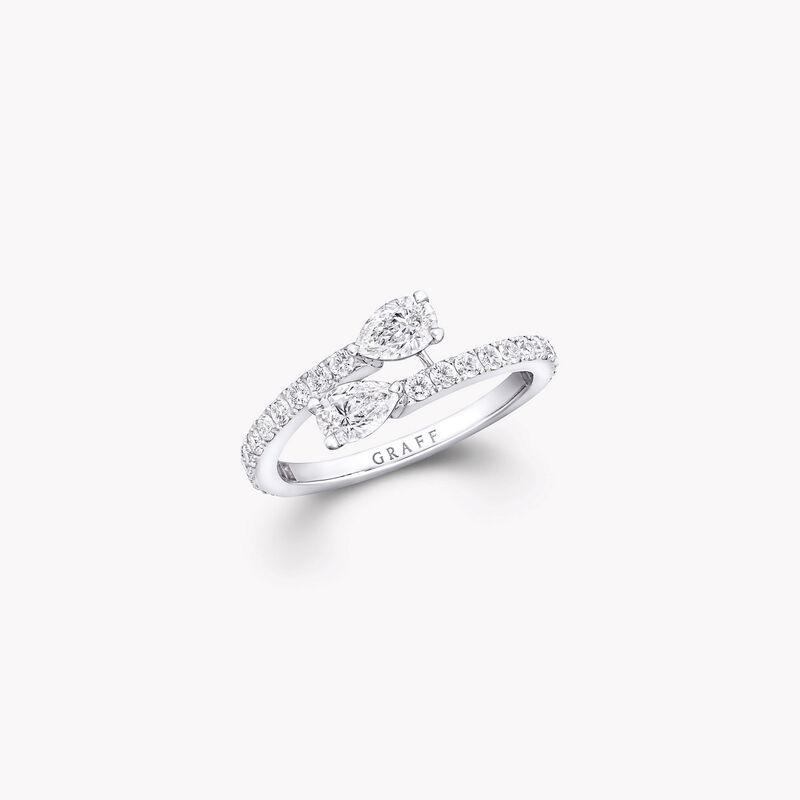 Duet Wraparound Diamond Ring, , hi-res
