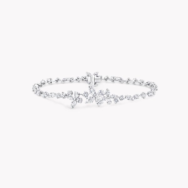 Bracelet en diamants Classic Butterfly, , hi-res