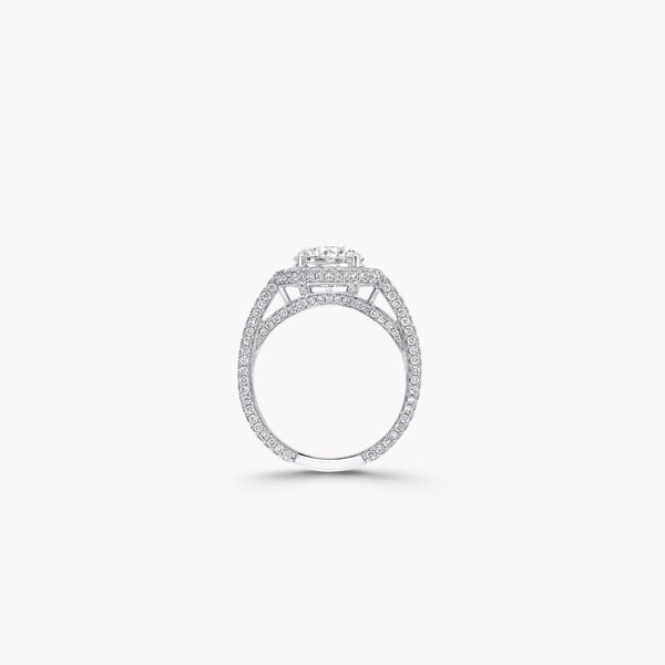 Constellation Round Diamond Engagement Ring, , hi-res